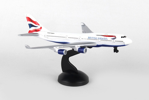 British Airways single Diecast plane RT6004