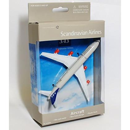 SAS toy diecast aircraft Airbus A340 SAS6264