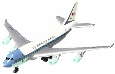 Air Force One toy diecast aircraft Boeing 747