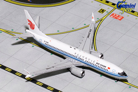 Gemini Jets Air China Boeing 737 MAX B-1396 Scale 1/400 GJCCA1706