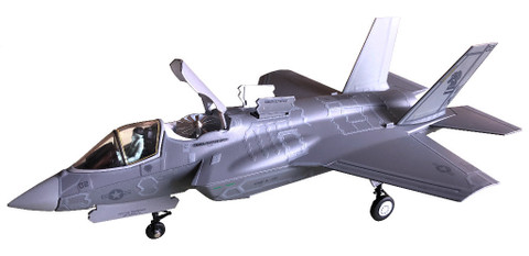 AIR FORCE ONE F-35B LIGHTNING II USMC VMFA-121 VK 02 GREEN KNIGHTS SCALE 1/72 AF1-0009B