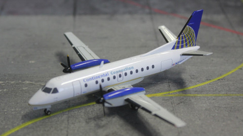 Herpa Continental Connection Saab 340 Scale 1/200 553469