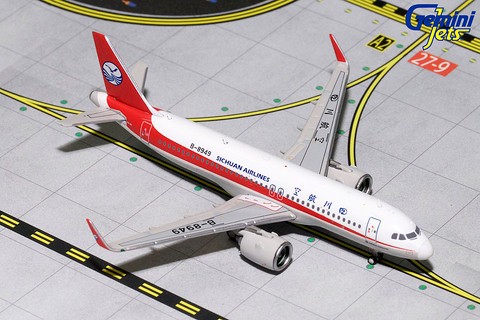 Gemini Jets Sichuan Airlines Airbus A320neo Scale 1/400 GJCSC1716