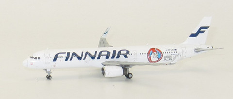 JC WIngs Finnair Airbus A321 OH-LZL Scale 1/400 JCLH4039