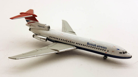 Gemini jets British Airways Trident Two G-AVFE Scale 1/400 GJBAW752