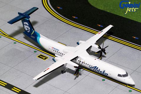 Gemini 200 Alaska Bombardier Dash 8Q-400 N438QX Scale 1/200 G2ASA729