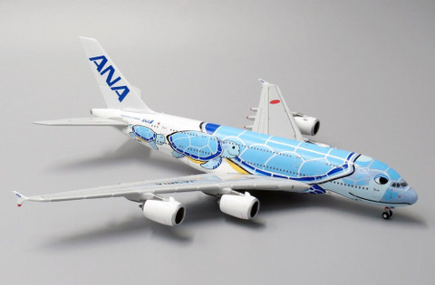 JC Wings ANA Airbus Flying Honu Lani Livery A380 JA381A Scale 1/400 JCEW4388002