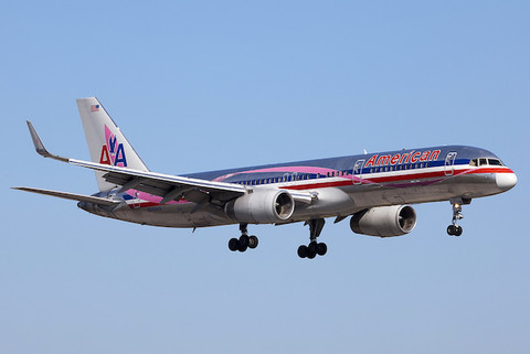 JC WIngs American Airlines BCA Pink N664AA with antenna Scale 1/400 JC4AAL135