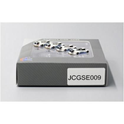 JC Wings Push back tug set x4 Air China x2 China Southern x2 Scale 1/400 JCGSE0009