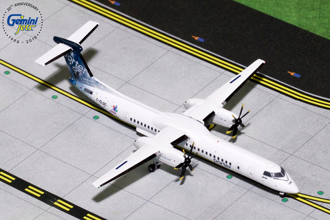 Gemini jets Porter Bombardier Dash 8Q-400 C-GLQC Celebrating Canada's 150th Scale 1/400 GJPOE1519