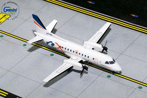 Gemini 200  Rex Regional Express Saab 340B Scale 1/200 G2RXA085