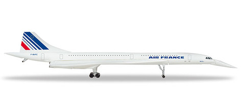 Herpa Wings Air France Concorde - nose down position Scale 1/500 532839