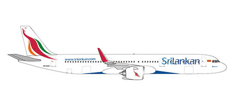 Herpa Wings Sri Lankan Airlines Airbus A321neo Scale 1/500 532884