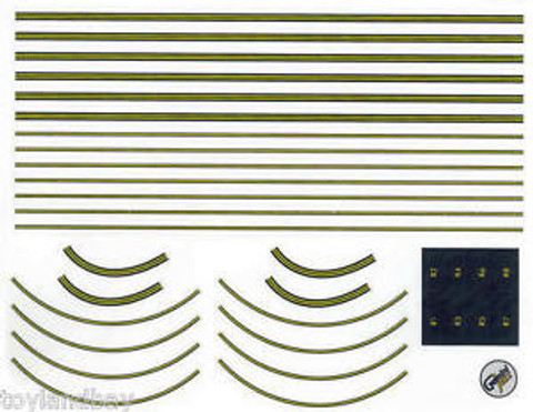 Gemini Jets decal sheet airport diorama for Ground foil runway Scale 1/400 GJAPS007