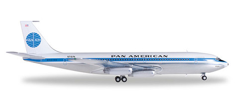 Herpa Wings Pan American World Airlines Boeing 707-320 Jet Clipper Liberty Bell Scale 1/200 556835-001