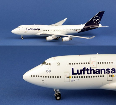 Herpa Wings Lufthansa - new 2018 colors Boeing 747-400  Scale 1/200 559485