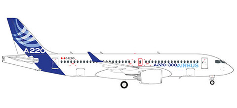 Herpa Wings Airbus Airbus A220-300 Scale 1/200 559515