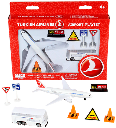 Turkish Airlines Airport Playset RT5401