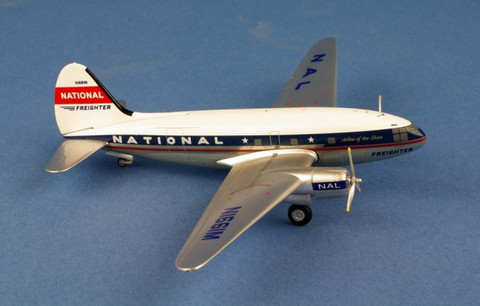 Aeroclassics 200 National Airlines Curtiss C-46 N1661M Scale 1/200 AC219377