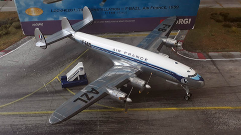 Corgi Air France Constellation F-BAZL Scale 1/144 AA30403