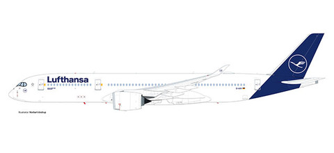 Herpa Wings Lufthansa Airbus A350-900 - new colors  Scale 1/500 532983