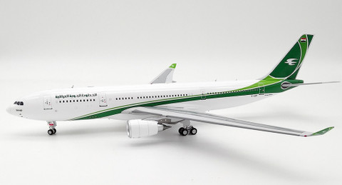 Inflight 200 Iraq Airways bus A330-200  YI-AQY with stand Scale 1/200 IF332IA0119