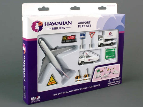 Hawaiian Airlines Playset RT2431