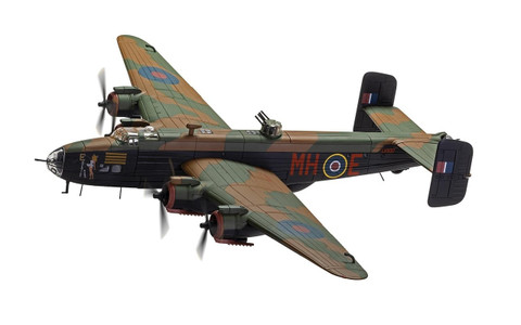 Corgi Handley Page Halifax B.III LV937/MH-E 'Expensive Babe RAF No.51 Squadron Snaith March 1945 Scale 1/72 AA37209