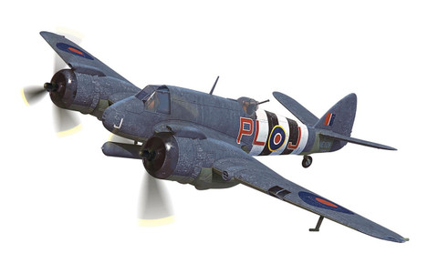 Corgi Bristol Beaufighter TF.X RAF No.144 Squadron Banff Aberdeenshire Scotland October 1944 Scale 1/72 AA28601