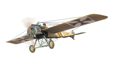 Corgi Fokker E.II, flown by Kurt von Crailsheim FFA 53 Monthois France October 1915 Scale 1/48 AA28701
