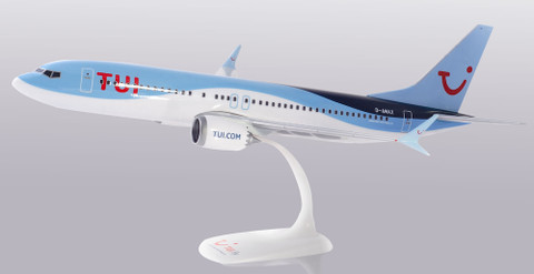 Herpa TUIfly Germany Boeing 737 MAX 8 Scale 1/100 612166