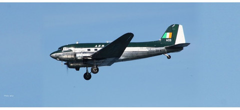 Herpa  Aer Lingus Douglas C-47A Skytrain DC-3 Berlin Airlift 70th Anniversary Edition Scale 1/200 559737