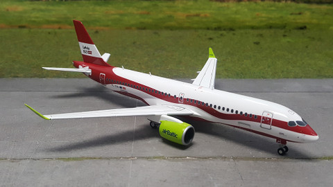 Herpa AirBaltic Airbus A220-300 Latvia 100 Scale 1/200 559690