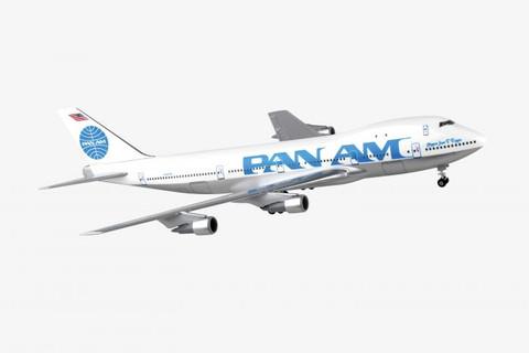 Skymarks Pan am Boeing 747-100 Juan Trippe N747PA Scale 1/200 SKR998