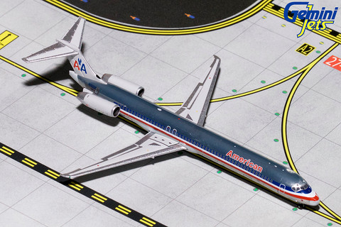 Gemini Jets  American Airlines MD-80 N9621A Scale 1/400  GJAAL1794