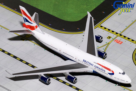 Gemini Jets  British Airways  Boeing 747-400 G-BYGF Scale 1/400  GJBAW1792