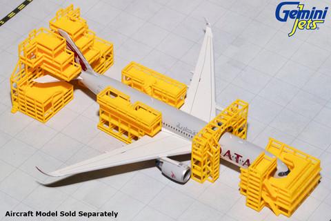 Gemini Jets Aircraft maintenance scaffolding Scale 1/400 GJAMS1828
