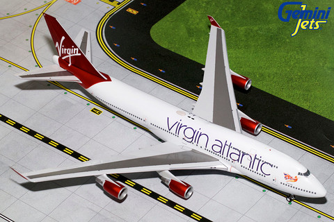 Gemini 200 Virgin Atlantic Boeing 747-400 G-VBIG  Scale 1/200 G2VIR766