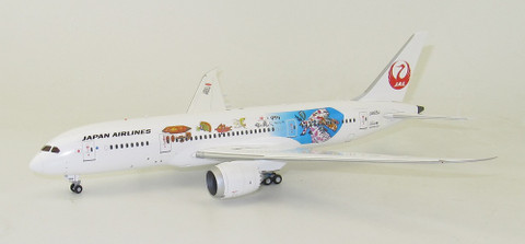 JC Wings JAL Japan Airlines Studio Ghibli Boeing 787-8 JA828J With Stand Scale 1/200 JC2159