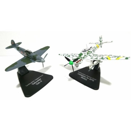 Dueling Yak 3 and Junkers JU 87 Scale 1/72 MAGJC21