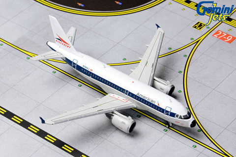 Gemini Jets American Airlines Airbus Allegheny Retro A319 Scale 1/400 GJAAL1133