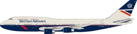 Skymarks British Airways Landor Boeing 747-400 G-BNLY 100 year anniversary G-BNLY with stand Scale 1/200 SKR1030