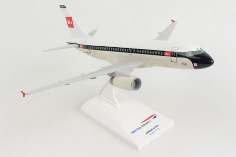 Skymarks British Airways BEA Airbus A319 100 year anniversary  G-EUPJ with gear & stand Scale 1/150 SKR1021