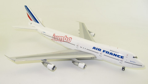 WB Models Air France Boeing 747-100 JUMBO F-BPVL Scale 1/200 WB741AF08