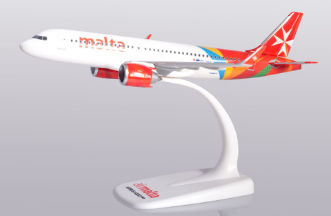 Herpa Snapfit Air Malta Airbus A320 9H-NEO Scale 1/200 612418