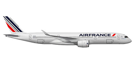 Herpa Wings Air France Airbus A350-900 Scale 1/200 559980