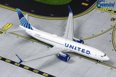 Gemini Jets United Airlines Boeing 737-800 Scale 1/400 GJUAL1803