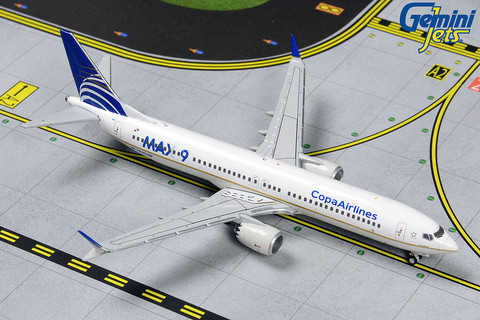 Gemini Jets Copa Ailrlines Boeing 737 Max 9  HP-9901CMP Scale 1/400 GJCMP1820