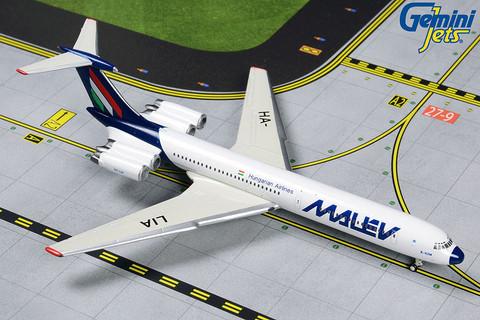 Gemini Jets Malev Ilyushin IL-62M HA-LIA Scale 1/400 GJMAH1805