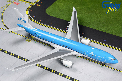 Gemini 200 KLM Royal Dutch Airlines Airbus A330-200 PH-AOM Scale 1/200 G2KLM839